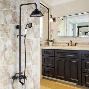 浴室シャワー水栓 シャワーシステム シャワーヘッド+ハンドシャワー+蛇口 ORB
