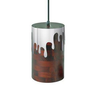 ペンダントライト リビング照明 ダイニング照明 玄関照明 照明器具 木目調 工業風 1灯