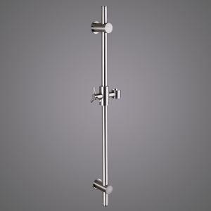 スライドバー シャワーハンガー ハンドシャワー部品 真鍮製 ヘアライン