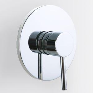 シャワーバルブ 埋込形バルブ スイッチ部品 シャワー水栓用 シングルレバー クロム