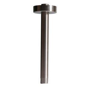 シャワーアーム シャワパイプ シャワーヘッド用部品 ステンレス製 天井付け 8in ヘアライン
