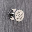 シャワージェット スプレー シャワー水栓部品 埋込み式 真鍮製 クロム