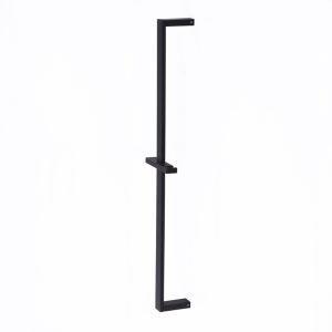スライドバー シャワーハンガー ハンドシャワー部品 真鍮製 黒色