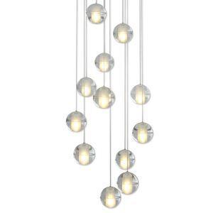 LEDペンダントライト シャンデリア 照明器具 リビング照明 吹き抜け照明 店舗照明 流星雨型 オシャレ LED対応