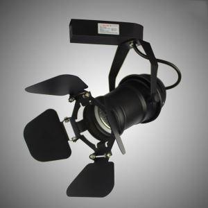 LEDスポットライト ダクトレール用照明 照明器具 店舗照明 玄関照明 LED対応 カメラ型 北欧風 簡単取付
