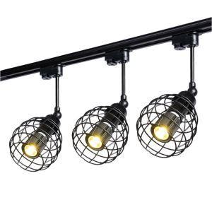 スポットライト ダクトレール用照明 照明器具 店舗照明 玄関照明 北欧風 1灯 簡単取付