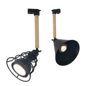 スポットライト ダクトレール用照明 玄関照明 店舗照明 回転可能 1灯 北欧風 簡単取付