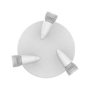 LEDシーリングライト LEDスポットライト 玄関照明 店舗照明 照明器具 円形 3灯 LED対応 回転可能