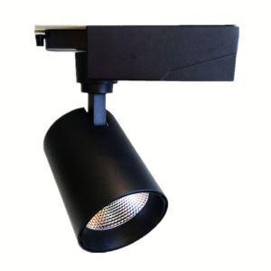 LEDスポットライト ダクトレール用照明 照明器具 店舗照明 玄関照明 LED対応 回転可能 黒白色 簡単取付