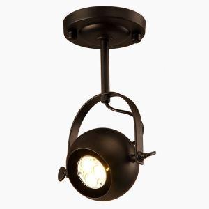 LEDスポットライト LEDシーリングライト 照明器具 玄関照明 店舗照明 更衣室照明 Loft照明 1灯/2灯/3灯 黒色 レトロ