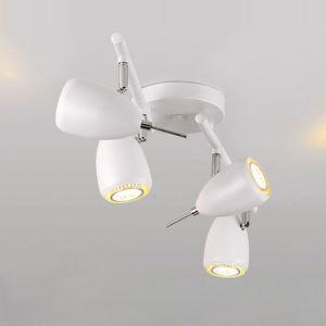 スポットライト シーリングライト 照明器具 玄関照明 店舗照明 食卓照明 回転可能 黒色 1灯/2灯/3灯/4灯