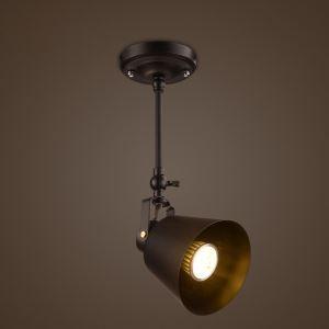 スポットライト シーリングライト 照明器具 玄関照明 店舗照明 食卓照明 工業風 黒色 1灯/2灯/3灯
