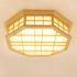 LEDシーリングライト リビング照明 照明器具 天井照明 ダイニング 寝室 和室和風 木目調 10畳 八角形 LED対応 調光調色可能 JPL1070