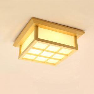 LEDシーリングライト リビング照明 照明器具 天井照明 ダイニング 寝室 和室和風 木目調 6畳 方形 LED対応 JPL205