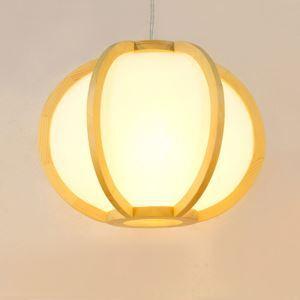 ペンダントライト 照明器具 リビング照明 店舗照明 天井照明 ダイニング 寝室 和室和風 木目調 カボチャ型 1灯 JPL321
