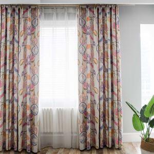 遮光カーテン オーダーカーテン 子供屋 オシャレ 果物柄 ピンク 捺染 3級遮熱カーテン(1枚)
