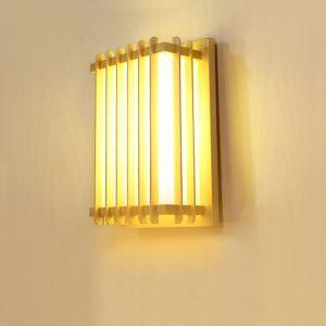 LED壁掛け照明 ウォールランプ ブラケット 間接照明 玄関照明 和室和風 竹木 1灯 LED対応 B207