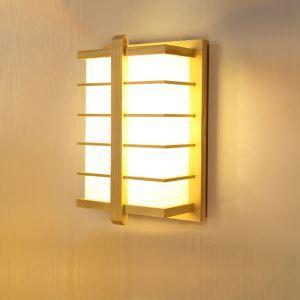 LED壁掛け照明 ウォールランプ ブラケット 間接照明 玄関照明 和室和風 竹木 1灯 LED対応 B209