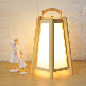 テーブルランプ スタンドライト 間接照明 卓上照明 デスクライト リビング 寝室 天然木 和風北欧風 1灯 T632