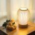 テーブルランプ スタンドライト 間接照明 卓上照明 デスクライト リビング 寝室 竹 手作り編み 和風 1灯 GYT0042