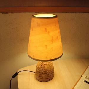 テーブルランプ スタンドライト 間接照明 卓上照明 デスクライト リビング 寝室 竹木 和風 1灯 GYT0023