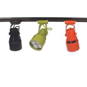スポットライト ダクトレール用照明 照明器具 玄関照明 店舗照明 4色 簡単取付