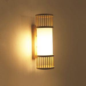 壁掛け照明 ウォールランプ ブラケット 間接照明 玄関照明 和室和風 竹木 1灯 B18