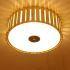 シーリングライト 照明器具 リビング照明 店舗照明 寝室照明 ダイニング 和室和風 竹木 円形 3灯/5灯 X02