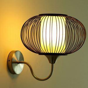 壁掛け照明 ウォールランプ ブラケット 間接照明 玄関照明 和室和風 竹木 1灯 GYB02
