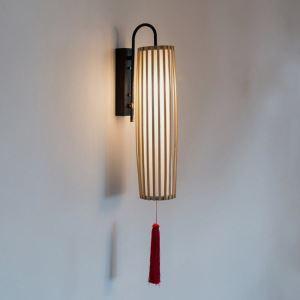 壁掛け照明 ウォールランプ ブラケット 間接照明 玄関照明 和室和風 竹木 1灯 B11B