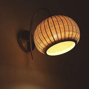 壁掛け照明 ウォールランプ ブラケット 間接照明 玄関照明 和室和風 竹木 1灯 GYB0003