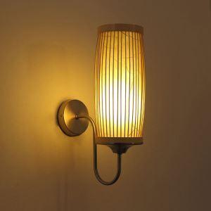 壁掛け照明 ウォールランプ ブラケット 間接照明 玄関照明 和室和風 竹木 1灯 B10