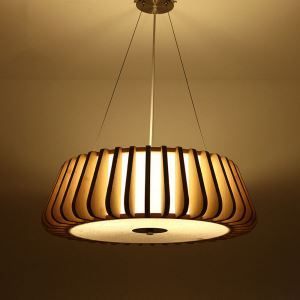 ペンダントライト 照明器具 リビング照明 店舗照明 天井照明 ダイニング 寝室 和室和風 竹木 4灯 GYD0081c