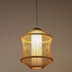 ペンダントライト 照明器具 リビング照明 店舗照明 ダイニング照明 玄関 寝室 和室和風 竹木 1灯 D0098