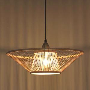 ペンダントライト 照明器具 リビング照明 店舗照明 ダイニング照明 茶室 寝室 和室和風 竹木 1灯 D388