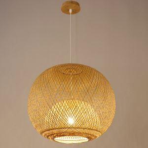 ペンダントライト 照明器具 リビング照明 店舗照明 ダイニング照明 玄関 寝室 和室和風 竹木 1灯 GYD856