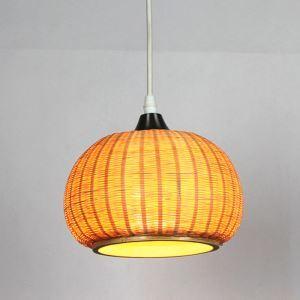 ペンダントライト 照明器具 リビング照明 店舗照明 ダイニング照明 玄関 寝室 和室和風 竹木 1灯 D1003