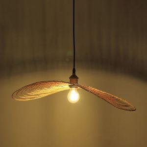 ペンダントライト 照明器具 リビング照明 店舗照明 ダイニング照明 茶室 寝室 和室和風 竹木 1灯 D00008