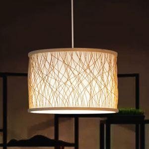 ペンダントライト 照明器具 リビング照明 店舗照明 ダイニング照明 玄関 寝室 和室和風 竹木 1灯 D203