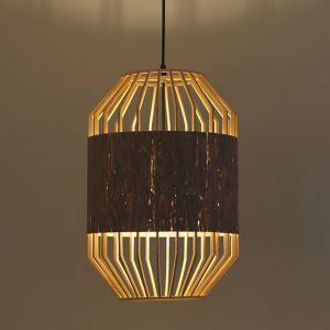 ペンダントライト 照明器具 リビング照明 店舗照明 ダイニング照明 玄関 寝室 和室和風 竹木 1灯 D325