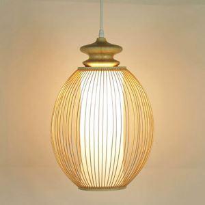 ペンダントライト 照明器具 リビング照明 店舗照明 ダイニング照明 玄関 寝室 和室和風 竹木 1灯 GYD0046