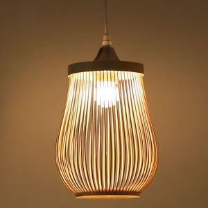 ペンダントライト 照明器具 リビング照明 店舗照明 ダイニング照明 茶室 寝室 和室和風 竹木 1灯/3灯/6灯 D1005