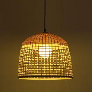 ペンダントライト 照明器具 リビング照明 店舗照明 ダイニング照明 玄関 茶室 和室和風 竹木 1灯 D821