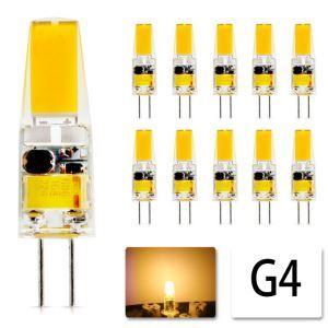 LED電球 G4電球 6W 12V 10個入り