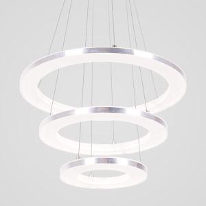 LEDペンダントライト 照明器具 リビング照明 店舗照明 三環 エンゼル環 LED対応 40+30+20cm LBY18024