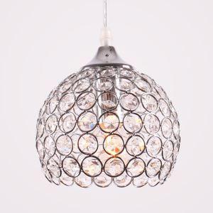 ペンダントライト 照明器具 天井照明 ダイニング照明 玄関照明 ボウル型 クリスタル オシャレ 1灯 LBY18010