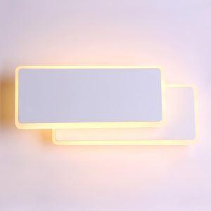 LED壁掛け照明 ブラケットライト ウォールランプ 玄関照明 間接照明 照明器具 白色 2層 回転可能 LED対応 LBY18032
