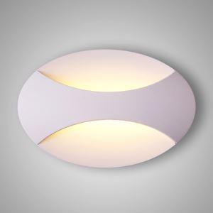 LED壁掛け照明 ブラケットライト ウォールランプ 玄関照明 間接照明 照明器具 白色 楕円形 LED対応 LBY18013