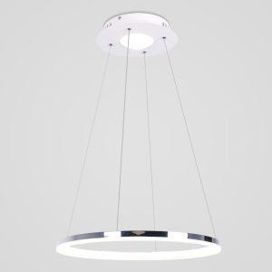 LEDペンダントライト 照明器具 リビング照明 店舗照明 一環 エンゼル環 LED対応 20W D40cm LBY18025