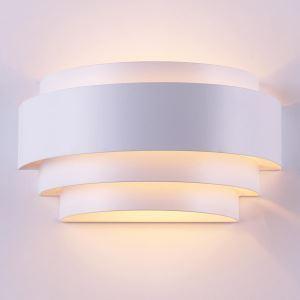 壁掛け照明 ブラケットライト ウォールランプ 玄関照明 間接照明 照明器具 オシャレ 3層 半円形 LBY18035